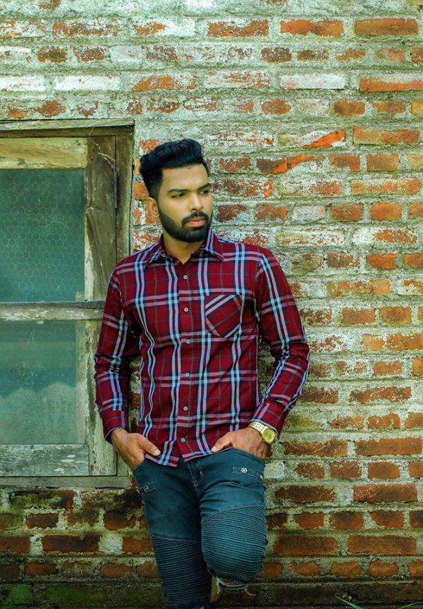 M_310 Check Shirt