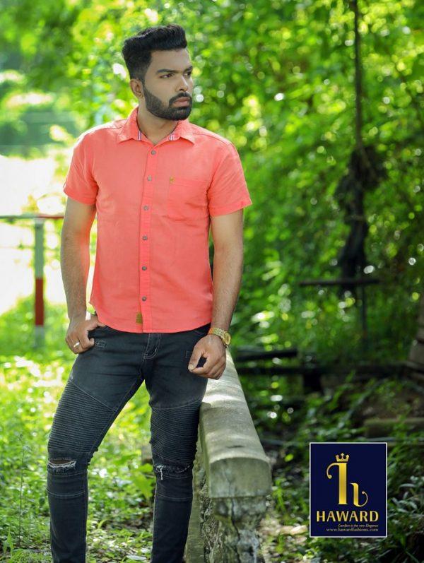 casual Linnen Shirt