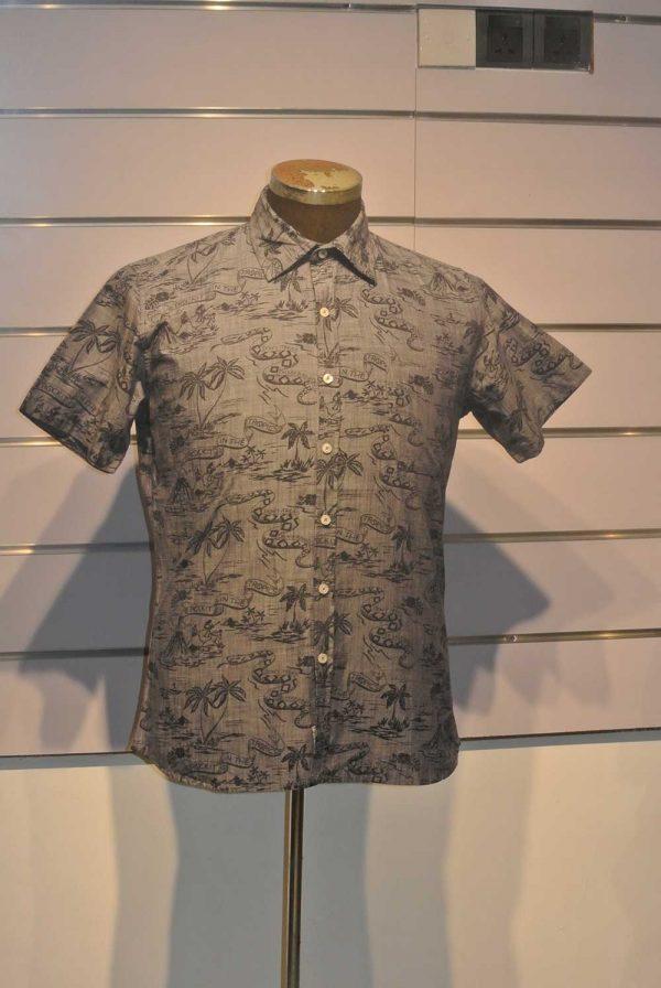 Snake Tree Printed Shirt