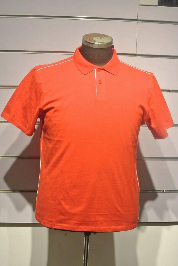 Men Orange T-shirt